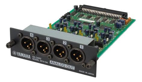 Yamaha MY4DA 4-Channel XLR Interface card for Yamaha Digital Mixers MY4DA-CA