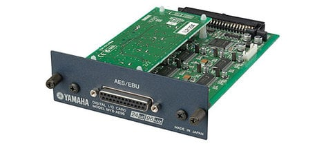 Yamaha MY8AE96 96 kHz Series Mini YGDAI 8-Channel AES/EBU Card MY8AE96-CA