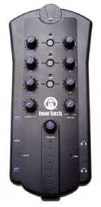 Hear Technologies HEAR-BACK-MIXER Headphone Mixer for use with Hear Back System HEAR-BACK-MIXER