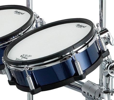 Roland CV20KX-BU Blue Shell Wrap Package for TD20SX V-Drums Kit CV20KX-BU