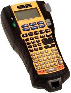 Dymo Corporation 1755749  Rhino 5200 Industrial Label Printer 1755749