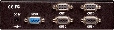 TV One 1T-VGA-414  1x4 RGB/YPBPR Distribution Amp 1T-VGA-414