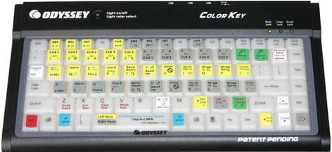 Odyssey CONTROLSKIN Keyboard Control Skin (for COLORKEY, Serato & Traktor Scratch Shortcuts) CONTROLSKIN