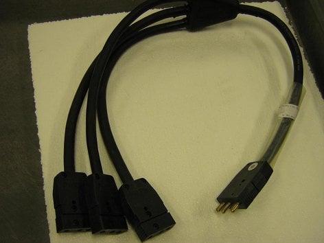"TMB ZMW123SP3 36"" Cable 3Fer w/Stage Pin ZMW123SP3"