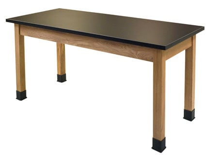"""National Public Seating SLT2472 24"""" x 72"""" Lab Table for Science Applications SLT2472"""