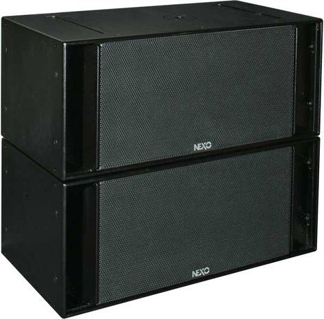 "Nexo RS15-P Scalable Dual 15"" Subwoofer RS15-P"