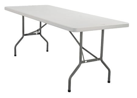 National Public Seating BT3096 Table,Rectangular,30x96x2 BT-3096