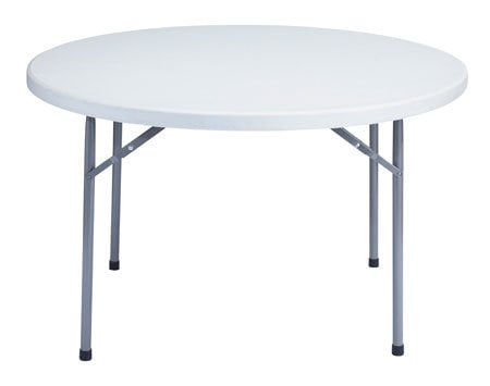 """National Public Seating BT48R Table, Folding, 48"""" Round BT-48R"""