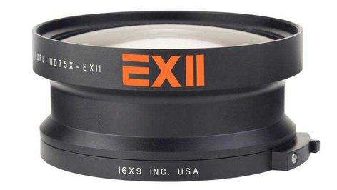 16x9 Inc 169-HDWC75X-HVX EXII 0.75X Wide Lens Converter with Bayonet Mount for Panasonic AG-HVX200 169-HDWC75X-HVX