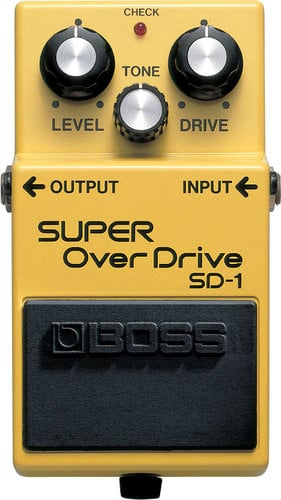 Boss SD1 Super Overdrive Pedal SD1