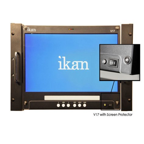 ikan Corporation SP17  Screen Protector for V17  SP17