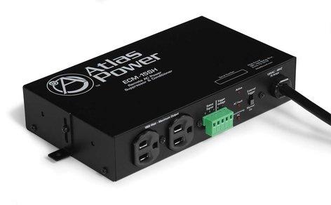 Atlas Sound ECM-15SH Power Conditioner & AC Spike Suppressor, Single Housing, 15A ECM-15SH