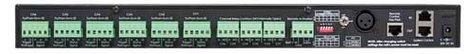 Atlas Sound ECS-6RM Electrical Control Sequencer ECS-6RM