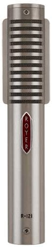 Royer Labs R121-LIVE-MP  1 Matched Pair of Mono Ribbon Microphones (in Dull Nickel Finish) R121-LIVE-MP
