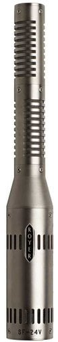 Royer Labs SF-24V  Vacuum Tube Stereo Ribbon Microphone (in Dull Satin Nickel Finish) SF-24V