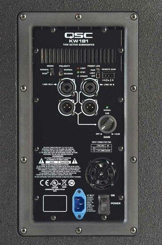 "QSC KW181 18"" Active Subwoofer KW181"