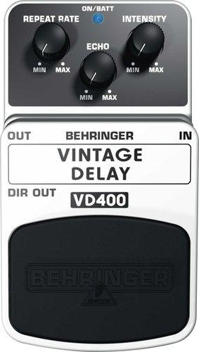 Behringer VD400 Vintage Delay Guitar Pedal VD400