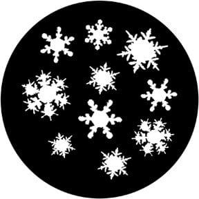 Rosco 71048 Snowflakes 3 Gobo 71048