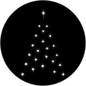 Rosco Laboratories 73634-ROSCO Christmas Tree D Gobo 73634-ROSCO