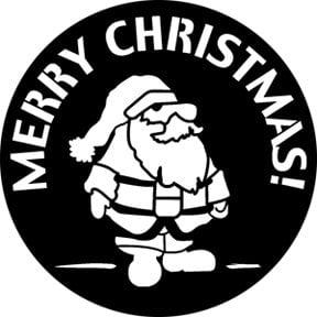Rosco Laboratories 76538 Merry Christmas 2 Gobo 76538