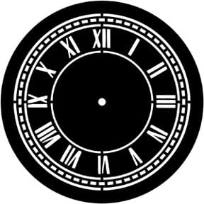 Rosco Laboratories 77920 Clock Face Gobo 77920