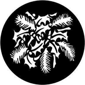 Rosco Laboratories 77954 Christmas Leaves Gobo 77954