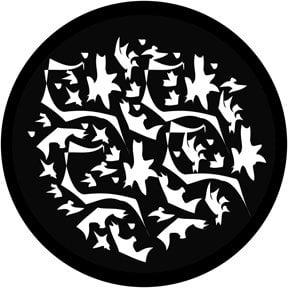 Rosco Laboratories 78425 Matisse Breakup Gobo 78425