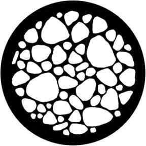 Rosco Laboratories 78449 Stone Bed Gobo 78449