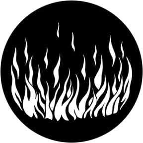 Rosco Laboratories 79171 Flames 5 Gobo 79171