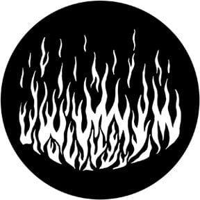 Rosco Laboratories 79172-ROSCO Flames 6 Gobo 79172-ROSCO