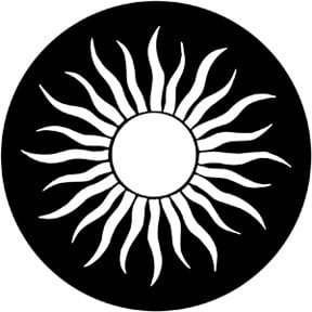 Rosco Laboratories 79177 Grecian Sun Gobo 79177