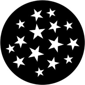 Rosco Laboratories 79219 Stars 9 Gobo 79219