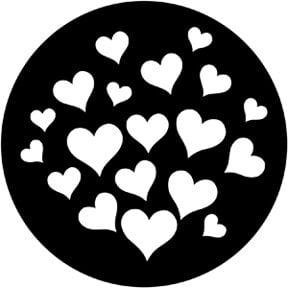 Rosco Laboratories 79651 Valentine Gobo 79651
