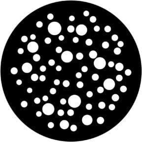 Rosco Laboratories 79653 Medium Bubbles Gobo 79653