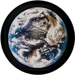 Rosco Laboratories 86668 Glass Earth Sky Gobo 86668