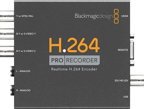 Blackmagic Design H.264 Pro Recorder H.264 Recorder / Encoder H264PRO-RECORDER