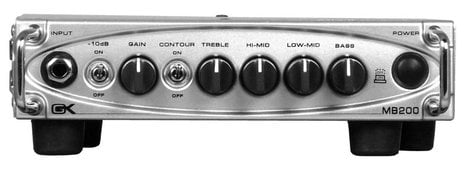 Gallien-Krueger MB200-GALLIEN 200W Ultra-Light Bass Amplifier Head MB200-GALLIEN