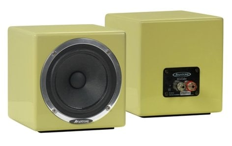 Avantone MIXCUBE-P MIXCUBES Mini Reference Monitors, Shielded, Pair MIXCUBE-P