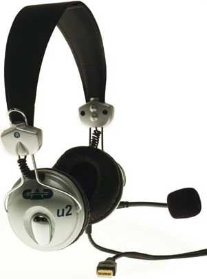 CAD Audio U2 USB Stereo Headphones with Microphone U2-CAD