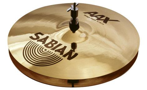 "Sabian 21402X AAX 14"" Stage Hi-Hat Cymbals in Natural Finish 21402X"