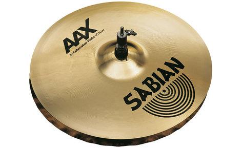 "Sabian 21402XL 14"" AAX X-Celerator Hi-Hat Cymbals in Natural Finish 21402XL"