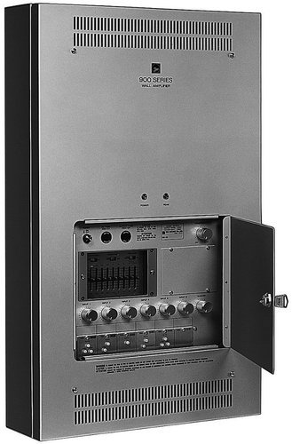 TOA W-912A 120W 6-Port Wall-Mount Mixer/Amplifier W912AUL