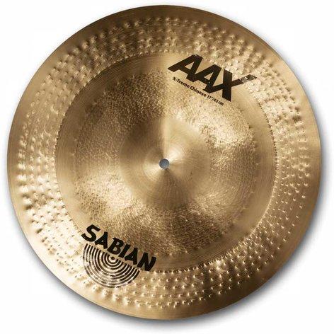 "Sabian 21786X 17"" AAX X-Treme Chinese Cymbal in Natural Finish 21786X"