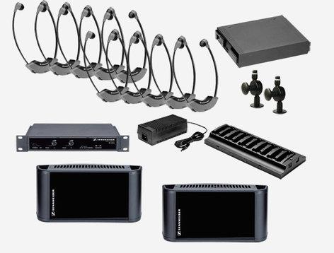 Sennheiser SI1015-8000-SINGLE  SI 1015-8000 Single IR System Package, 8,000s/ft SI1015-8000-SINGLE