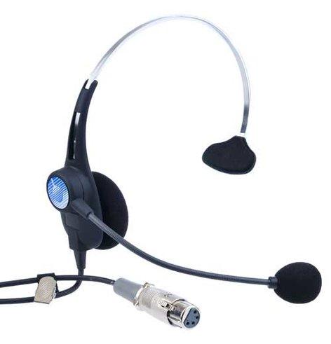 Clear-Com CC26K-X4  Headset with Dynamic Mic, Single Earmuff, 4-pin XLR-F CC26K-X4
