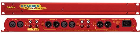 Sonifex RB-BL4  Dual Stereo Bi-Directional Matching Converter RB-BL4