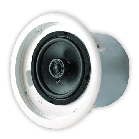 "Speco Technologies SP6NXCTUL NEXUS™ UL® Contractor Series 6.5"" 70V Metal Back Can Speakers (Pair) SP6NXCTUL"