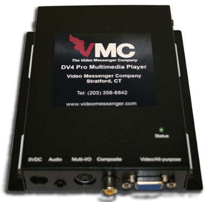 Video Messenger Company DV-4 DV Media Player for VM-3 DV-4