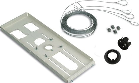 Premier Mounts PP-FCTA-QL  Hidden False Ceiling Adapter (with Quick-Lock Cable, White) PP-FCTA-QL