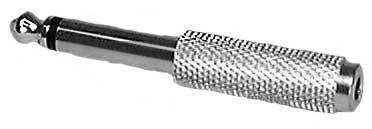 """Philmore 45-302G  1/4"""" Mono Jack to 1/8"""" Mono Plug Adapter 45-302G"""